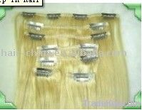 clips in hair