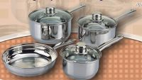 stainless steel, stockpot, cookware