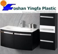 PVC wood imitation foam board Bathroom Cabinet