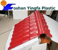 weather resistance plastic villa roof tile