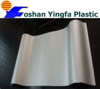 big trapezoid PVC roof tile
