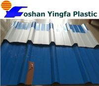 small trapezoid UPVC roof tile