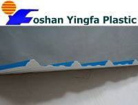 big trapezoid PVC roof tile