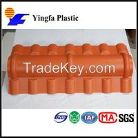 Brick Red Villa PVC Roof Tiles