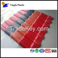 Ancient style excellent corrosion resistance synthetic resin tile for Japanese hotel