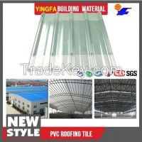 Anti-corrosive parking shed Translucent FRP roof tile