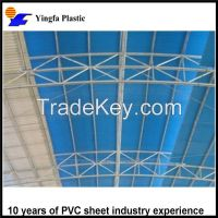 Plastic sheets for greenhouse translucent PVC roof tile