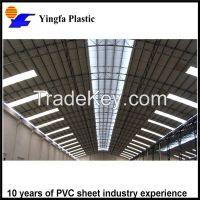 Best seller toughness durable fire-retardent translucent FRP roof tile for Watermelon plantation