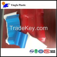 good quality pvc plastic sheet antique metal roof tiles plastic building materials