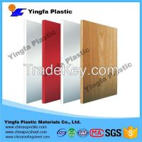 supply high quality pvc sheets black with different density / foam pvc sheet / pvc