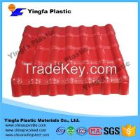 Red color steel roofing from alibaba China supplier