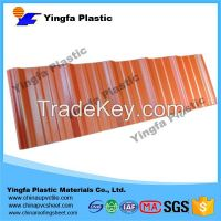 clear thin translucent plastic pvc roof sheet