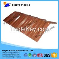 Best seller toughness durable fire-retardent translucent PVC roof tile for Watermelon plantation