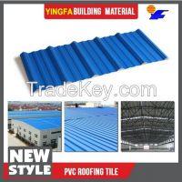 Fast installation outdoor translucent PVC plastic shingles