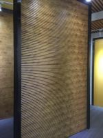 Popular size 201*16mm indoor wpc wall panel decorate your home