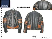X-MEN 1 Leather Jacket  Distressed Brown Wolverine New