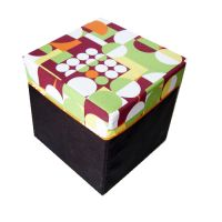Foldable Storage Stool
