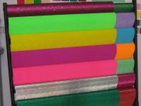color corrugated paper, metallic corrugated, fluorescent corrugated pape