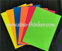fluorescent card paper  for school