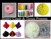 paper pompm tissue pompom tissue garland