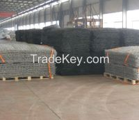 Hexagonal Galvanized Galfan Gabion Boxes with covers, Factory in Anping
