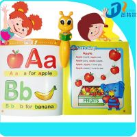 Point talking pen with 12 books for learning English