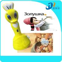Best new year's gift talking pen with 12 books animal style pen for learning English