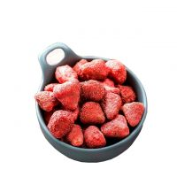 Pure Natural Chinese Health Snack Freeze Dried Strawberry Dehydrated Strawberry