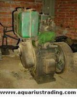 used kirloskar pumps & petter