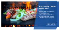PTFE BBQ Grill Mat/Oven Liner . Teflon BBQ  Grill Mat/Oven Liner
