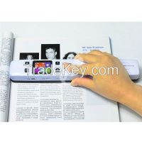 Preview WIFI Scanner Document A4 Scanner Portable Scanner Bookedge Design Support Double Roller rechargeable