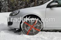 Carbon Fabric Snow Chain Textile Snow Tyre Tire for cars in winter International Authorized TUV Certification