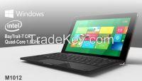 10.1-inch Quad-core Windows 8.1 Tablet PC  with IPS Screen, POGO Keyboard, Bing Office 365 Preloaded