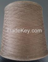 30% Wool 35% Cotton 35% Coffee Carbon Knitting Yarn