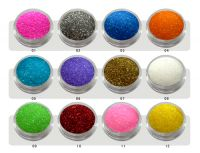 nail care decoration/glitter powder in set