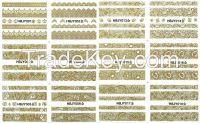 NAIL ART STICKER / 3D NAIL STICKERS / NAIL ART DECORATION