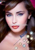 3 tone contact lens - Aqua