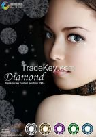 2 tone contact lens - Diamond