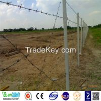 China Suppliers High Quality Cheap Double Strand Common Twisted Barbed Wire Fence