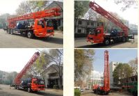 truck mounted water well drilling rig 300meter
