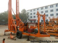 trailer Engineering and water-well drilling rig