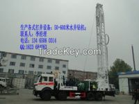 600meter mounted Sino- truck well driling rigs BZC600BZY