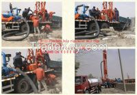 The perfect truck mounted water well drilling rigs 400meter BZC400