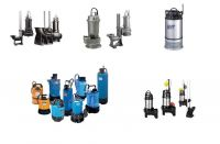 Dewatering and sewage pumps from Tsurumi - Japan.