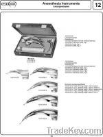 Mclntosh Laryngoscopes Set of 3 Blades