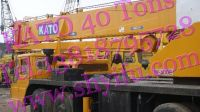 Kato Tower Crane NK400E, Hydraulic Crane 40tons, All Terrain Crane