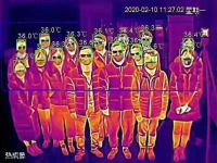 AI Intelligent Infrared Thermography Fast Temperature Screening System