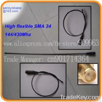 2M/70cm HT Antenna Super flexible and lightweight with SMA connector