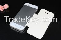 Rechargeable external battery phone case