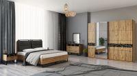 Venüs Sliding Door Bedroom Set Wood Design